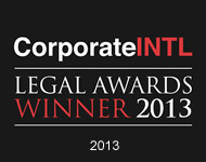 legal intl2013 Exemplary Awards/Recognitions