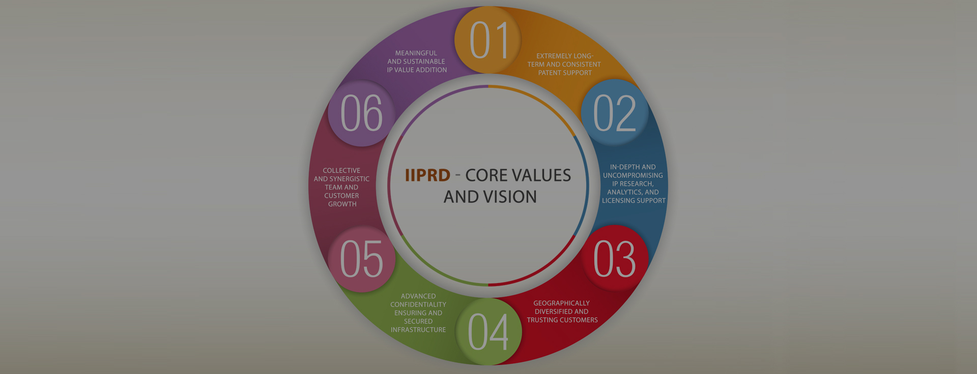 IIPRD Core Values and Vision
