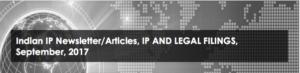 Indian IP Newsletter