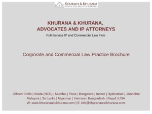 Corporate and Commercial Law Practice Brochure